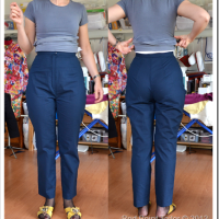 My not-wearable pants muslin