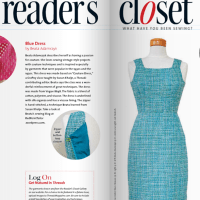 Red Point Tailor garment featured in Threads Magazine