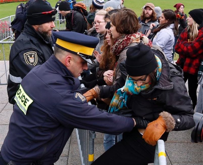 Police Issue 99 Trespass Citations During Pipeline Protest On Parliament Hill