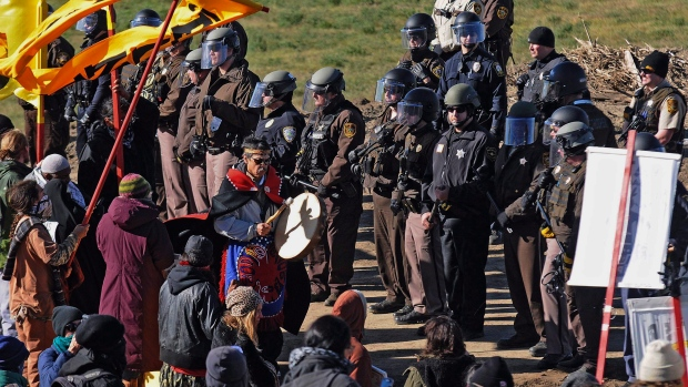 Obama Steers Clear As North Dakota Pipeline Protests Veer Out Of Control