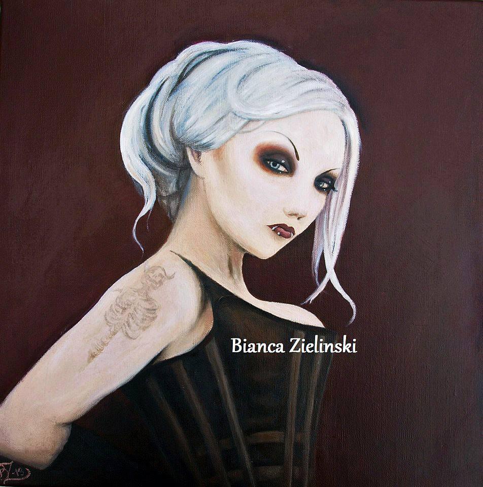 Fan art of Elena by Bianca Zielinski