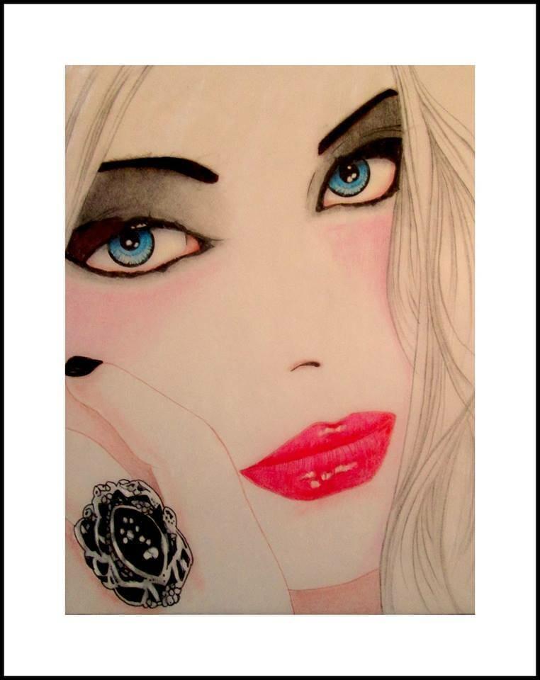 Fan art of Elena