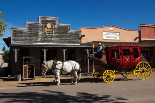 Stage coach in Tombstone AZ