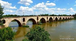 bridge and city walls