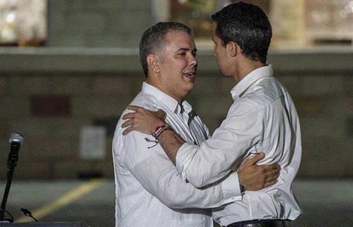 Resultado de imagen para Fotos: Los Rastrojos ayudaron a Guaidó a pasar a Colombia