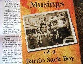 Musings of a Barrio Sack Boy, book by L. LuisLopez