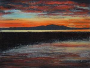 Criffel Sunset