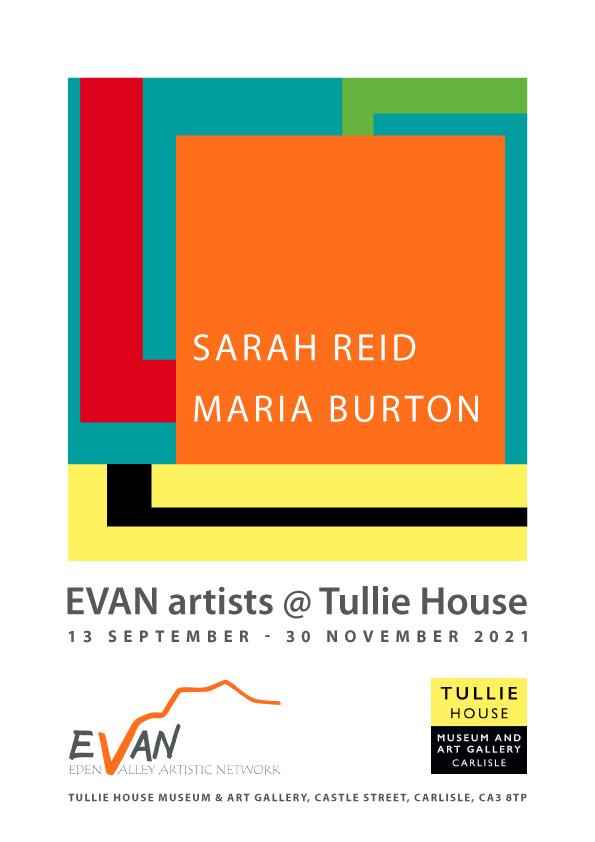 Sarah Reid and Maria Burton at Tullie House
