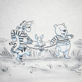Convicted felon, Winnie, breaks out of jail with the help of his prison mates Tigger and Piglet, and set off on a cross-state journey to find his missing honey pot.