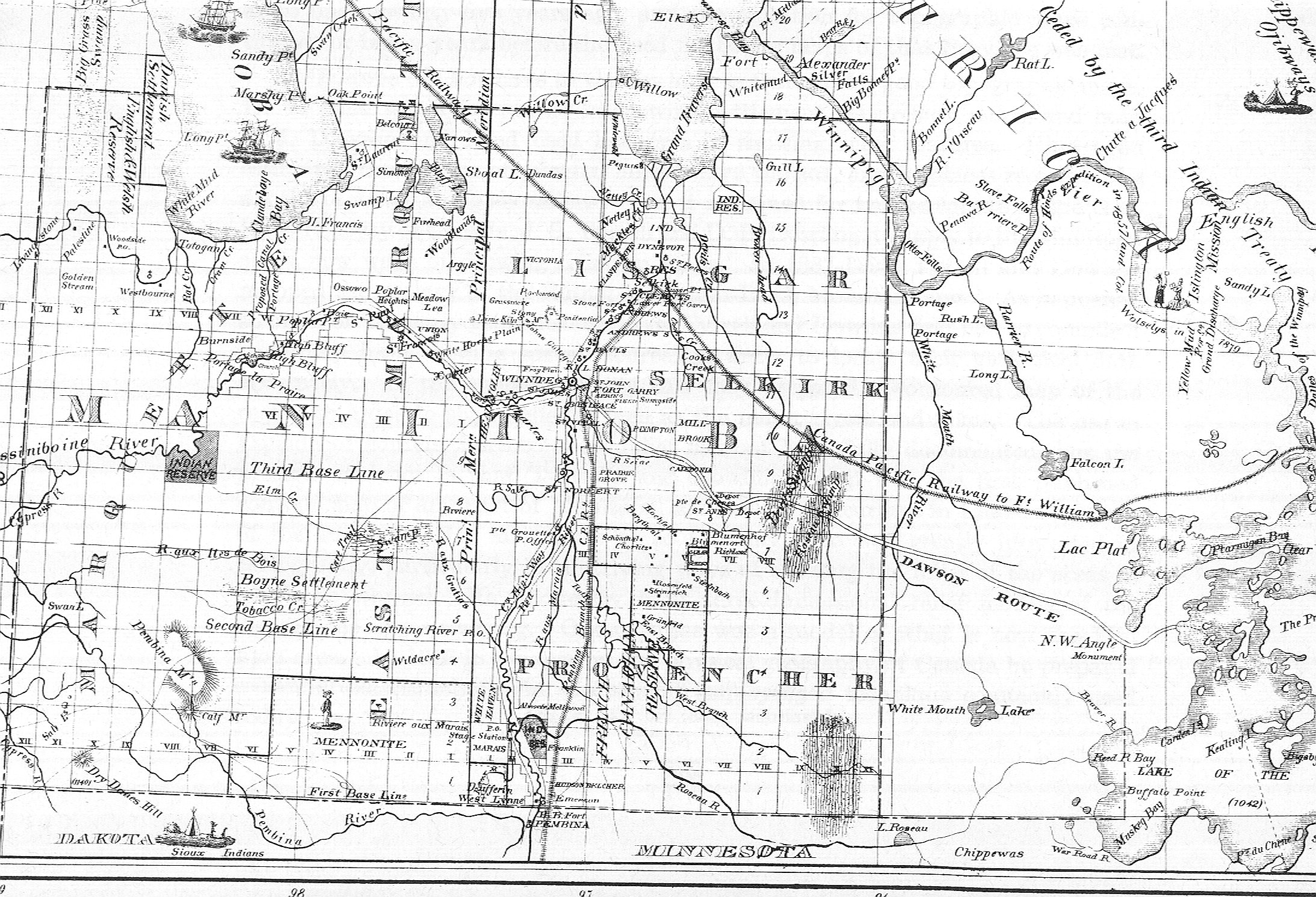 Map 007 Province Of Manitoba