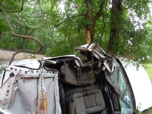 Auto Wreck Triple Tragedy
