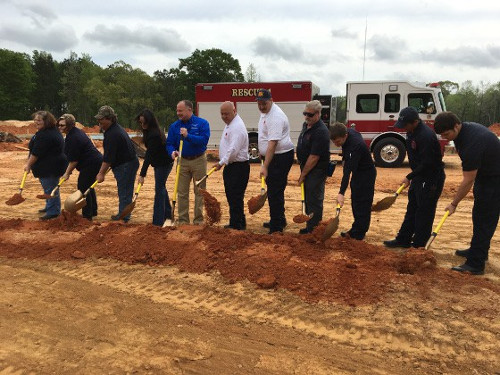 Fire Station Groundbreaking