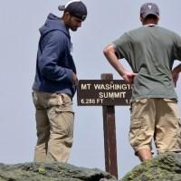 Panic on Mt. Washington, New Hampshire