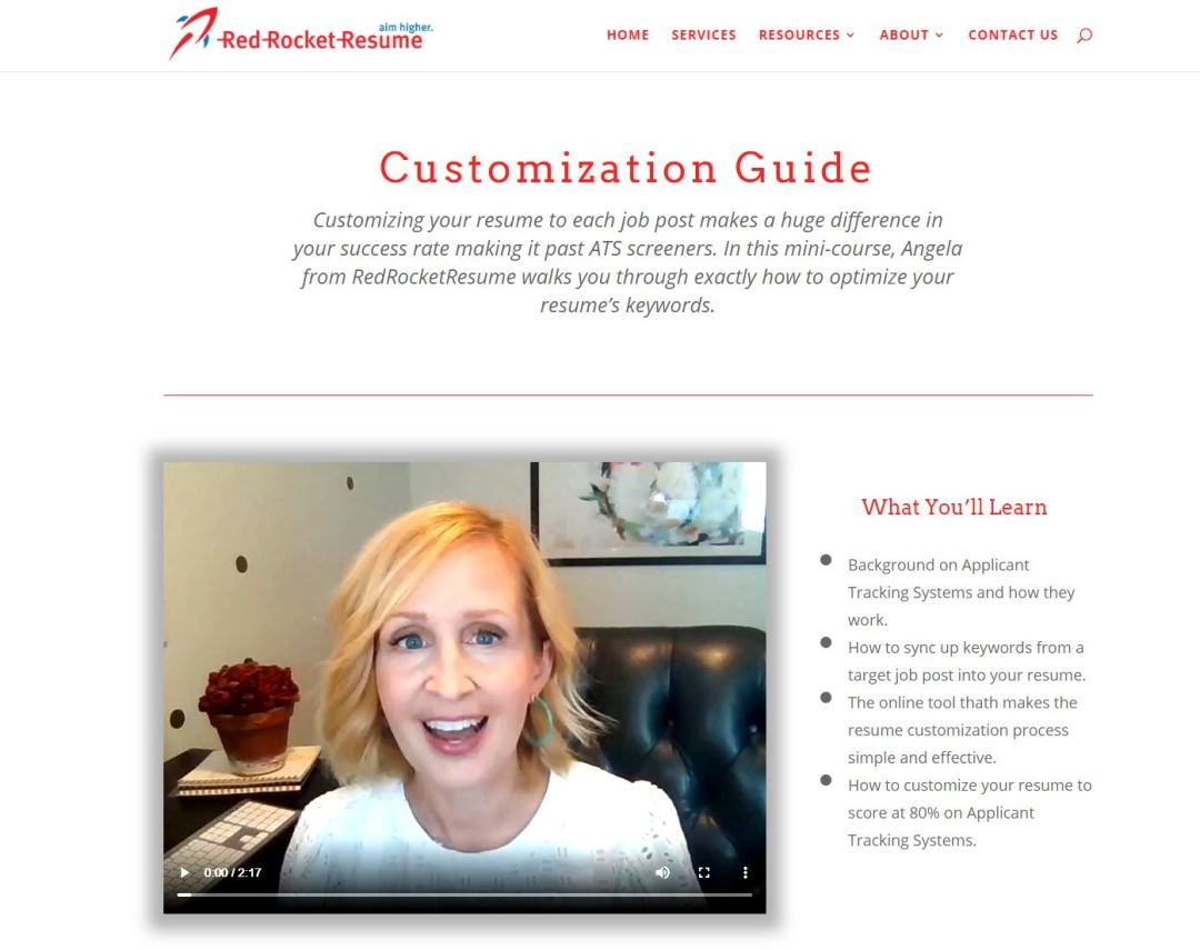 How to Tailor Your Resume, RedRocketResume's customization guide