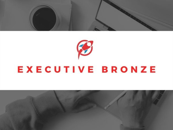 executive bronze package product logo