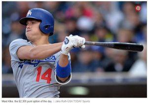 Dodgers Batter