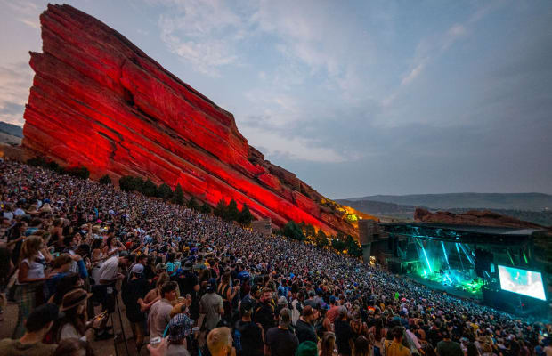 No Tickets, No Problem: You Can Now Enter Red Rocks By Scanning Your Palm