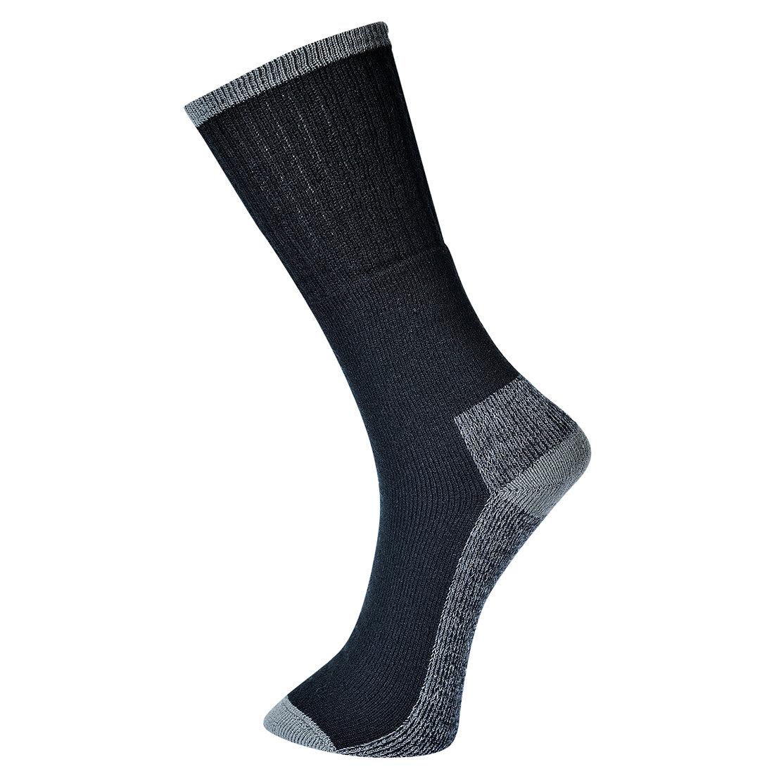 Redrok Workwear Centre Plymouth Work Sock 3 Pairs - Black