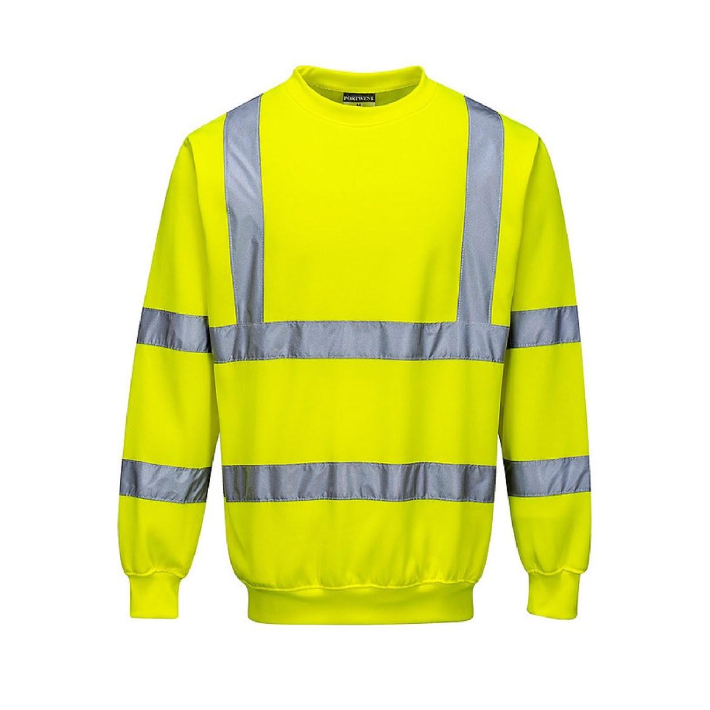 Redrok Workwear Centre Plymouth - Hi-Vis Sweatshirt - Yellow