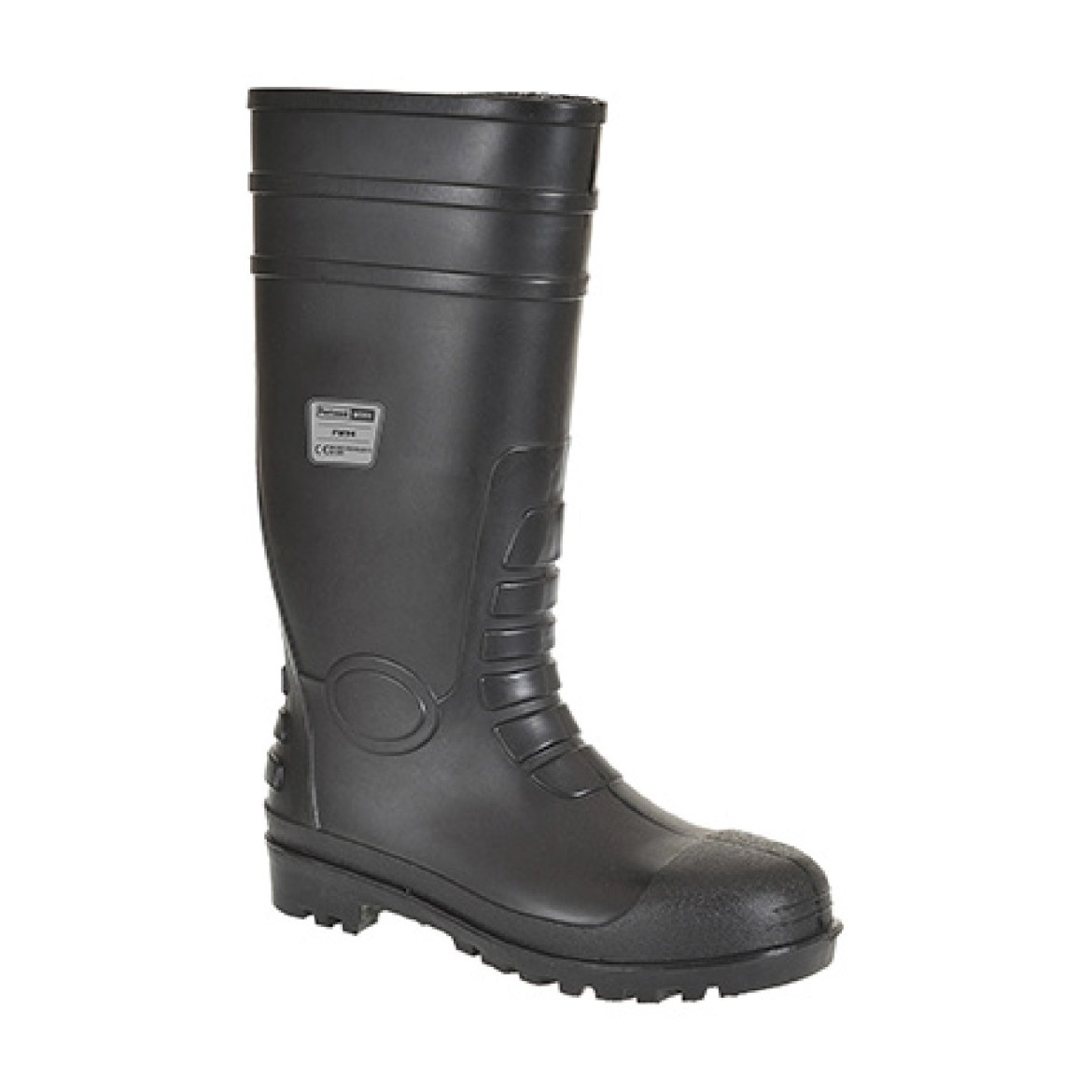 Redrok Workwear Centre Plymouth Classic Safety Wellington S4 - Black