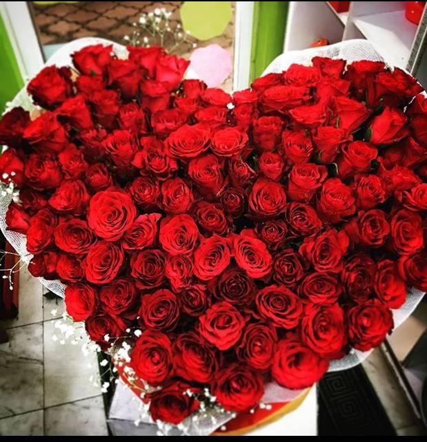 Korpa 101 ruža 12