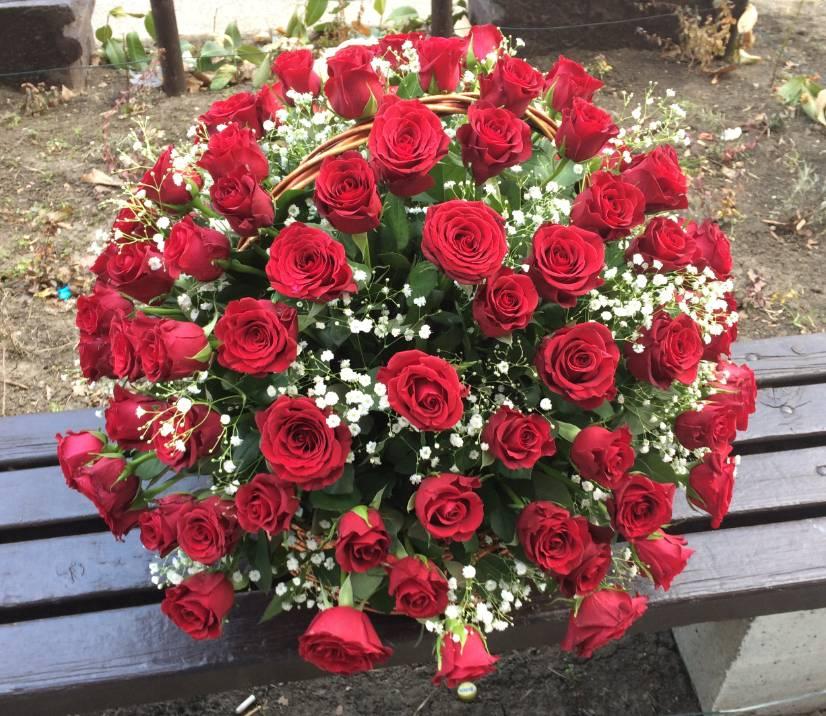 Korpa 101 ruža 17