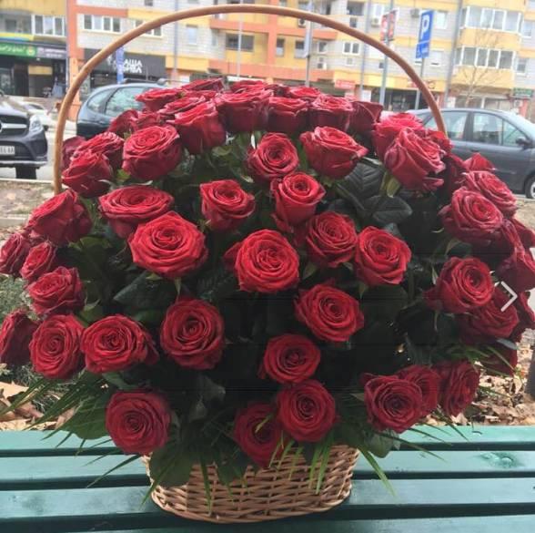 Korpa 101 ruža 20