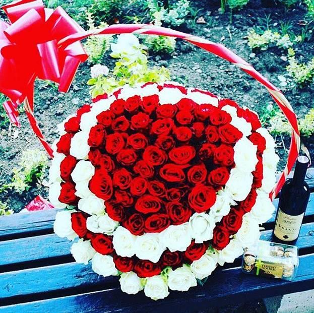 Korpa 101 ruža 24