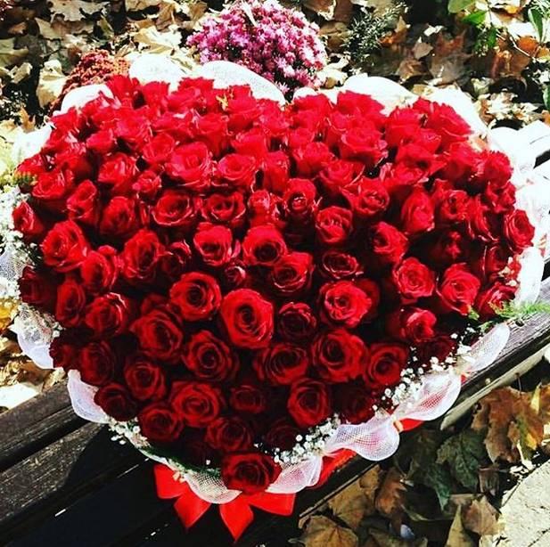 Korpa 101 ruža 25