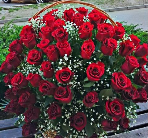Korpa 101 ruža 26