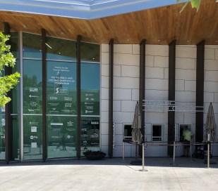 Outdoor ticket office