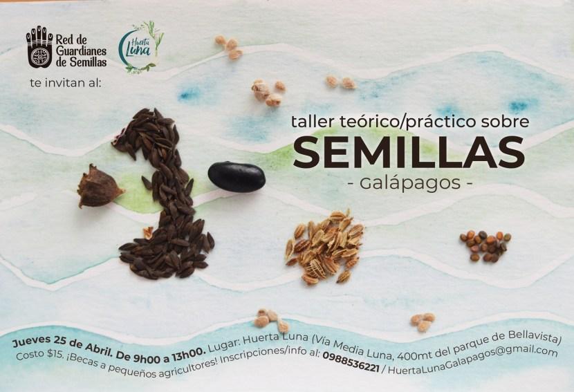 galapagos semillas agricultura organica comida organica