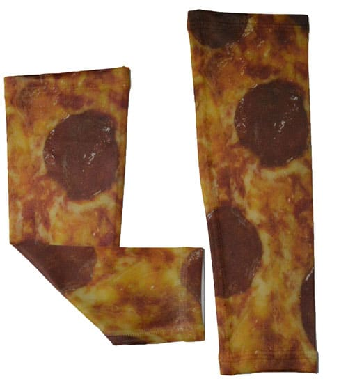 Pizza Running Arm Sleeves