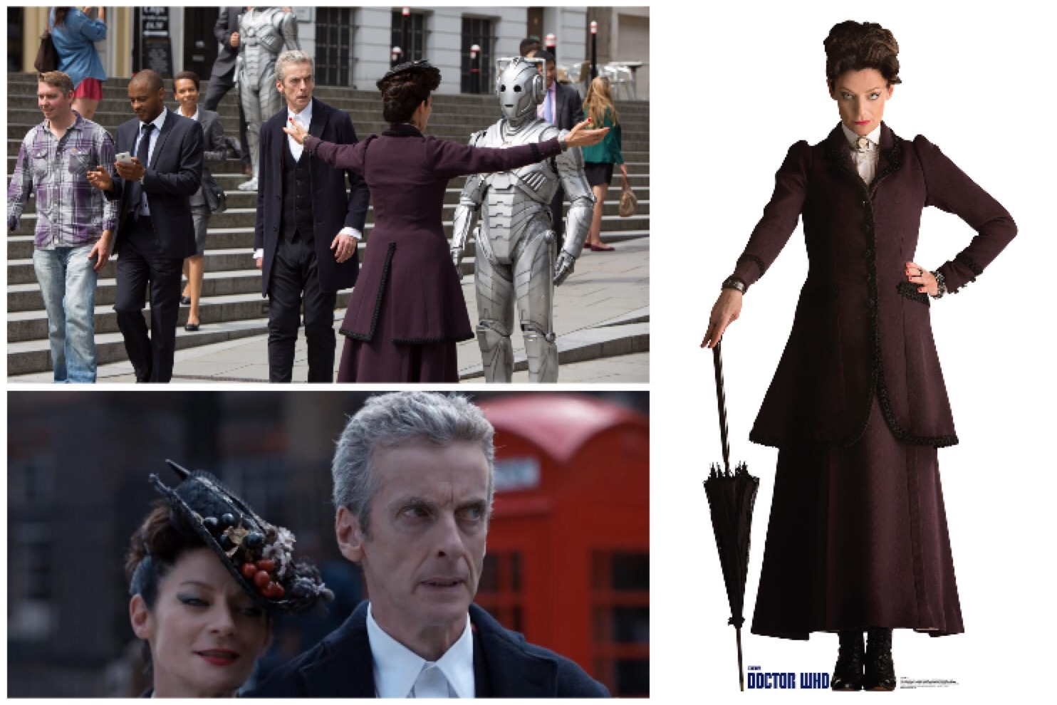 Costuming Missy from Doctor Who: Series 8 - Red Shoes. Red ...