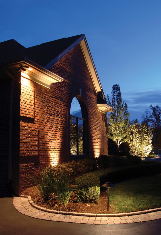 vista landscape lighting red s home