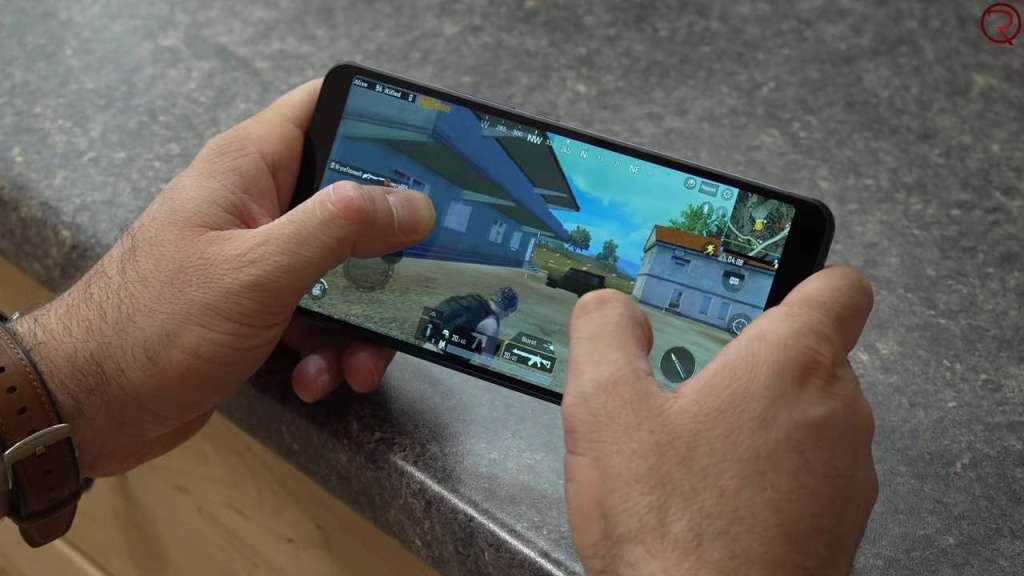 Alcatel 3V 2019 PUBG gameplay