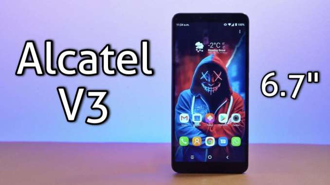 Alcatel 3V 2019 Smartphone