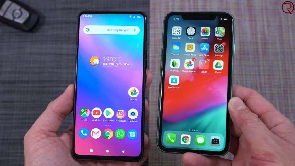 iPhone 11 vs BOLD N1