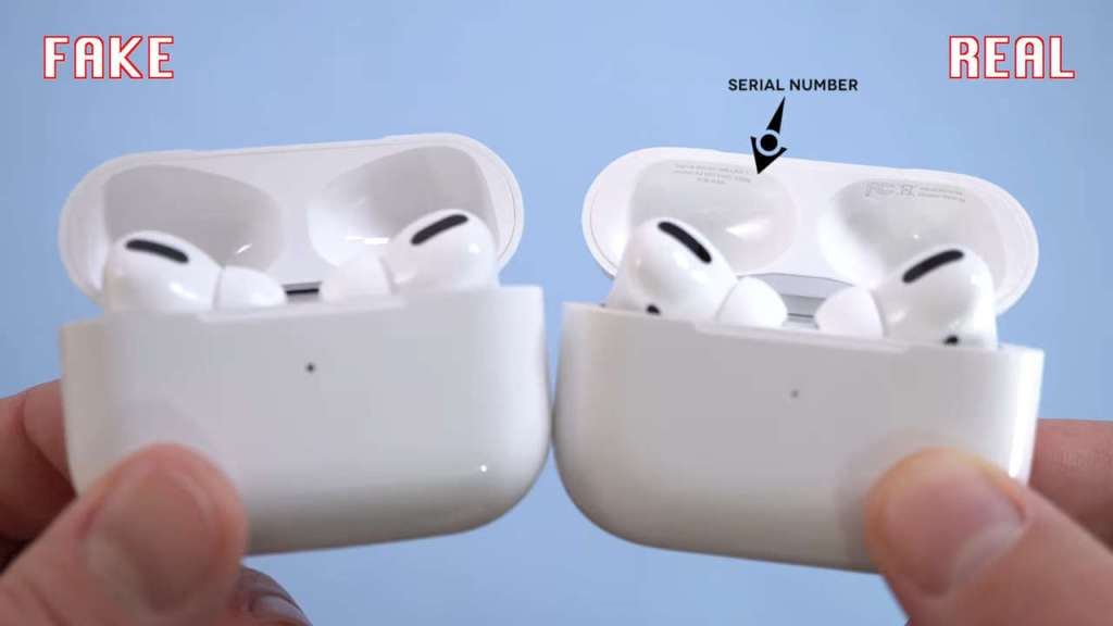AirPods Pro: Fake vs Real Charging Box Serial Number
