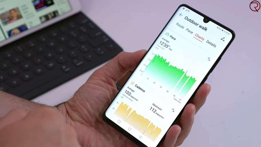 Huawei Watch GT activity report