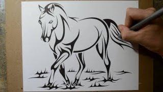 Horse Tattoo Designs