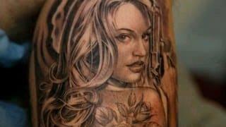 Pin Up Mermaid Tattoos
