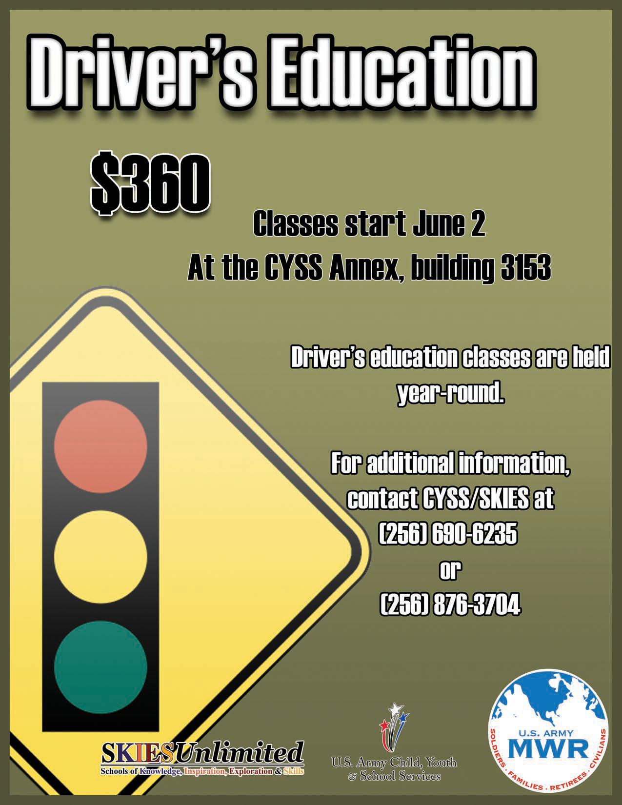 Driver S Education Classes