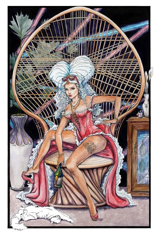 """""""80s Antoinette,"""" artist Theresa Bramblett"""