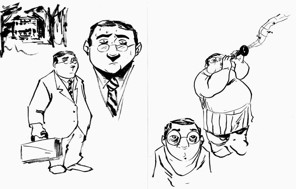 Artie, character sketch