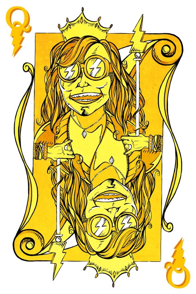 Janis Joplin concept, Alex Clark
