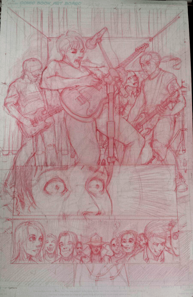 "p1 redline pencils from Ellen Goodlett and Y. Sanders story, ""Wiliam's Last Words"" inspired by Richey Edwards and Manic Street Preachers"