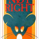"cover for ""Not Right"" story by Blake Armstrong and Alex Clark, inspired by Dave Alexander and The Stogges"