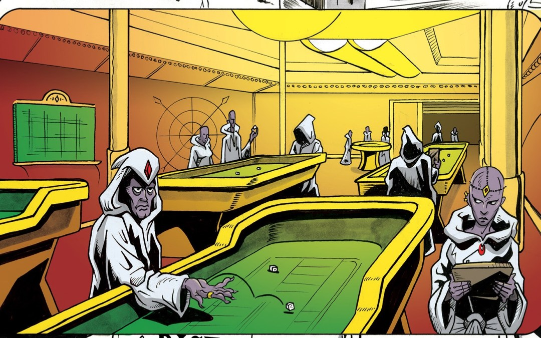 The Ruins (10 of 10 stories from THE STRIP, A Twisted Vegas Comic Anthology)