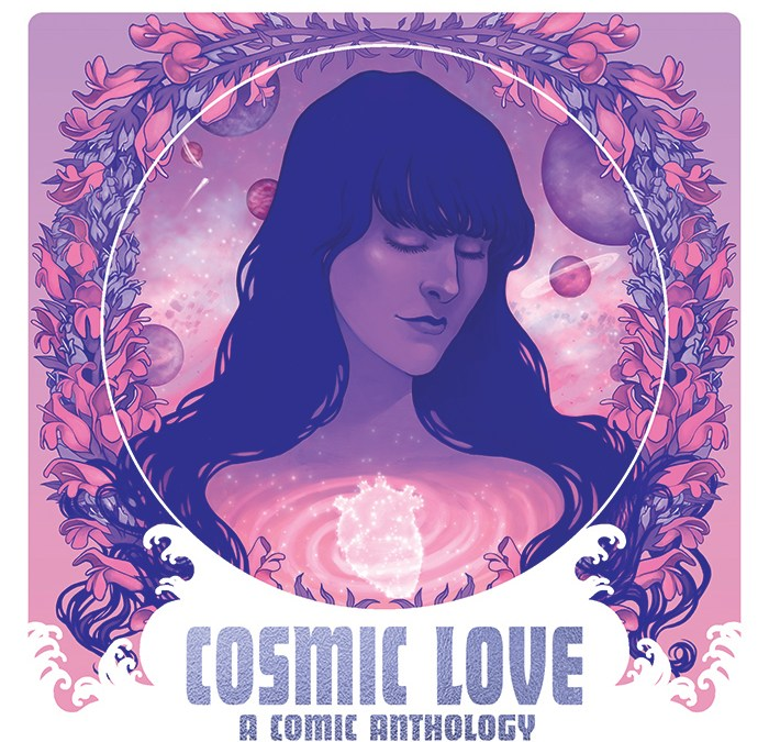 Creator lineup for COSMIC LOVE, a comic fanthology inspired by Florence + the Machine